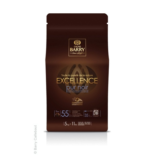 DARK EXCELLENCE PISTOLS 55% 5KG CACAO BARRY