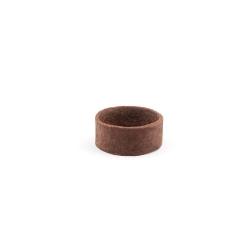 CHOCOLATE MINI ROUND TART SHELL 288PCE 41X17MM